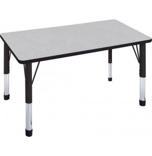 Hercules Adjustable Height Rectangular Activity Table