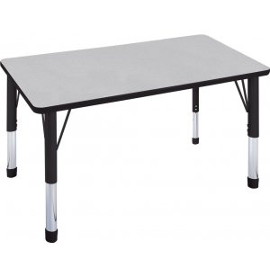 Hercules Adj. Rectangular Activity Table w/ Casters