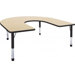 Hercules Adjustable Height Horseshoe Activity Table