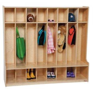 Preschool Seat Lockers - 8-Section