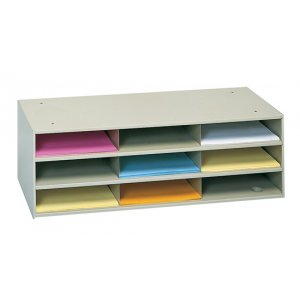 Letter Literature Organizer - 9 Compartments