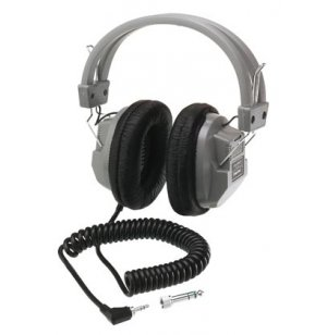 Stereo Mono Headsets with Volume/Deluxe/4 Pack