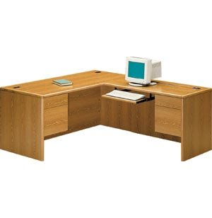 HON L-Shaped Office Desk w/Right Return