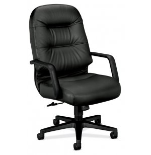 HON Leather High Back Executive Office Chair