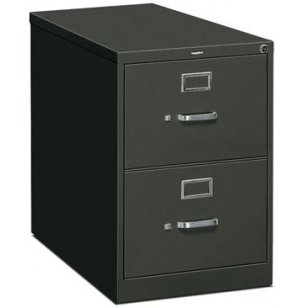 2 Drawer Legal Vertical File Cabinet