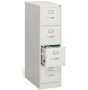 4 Drawer Letter Vertical File Cabinet