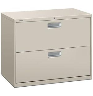 600 Series 2 Drawer Lateral File Cabinet