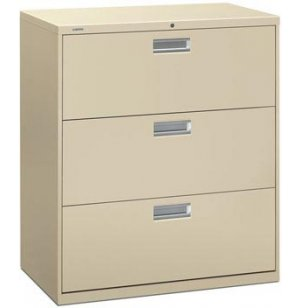 600 Series 3 Drawer Lateral File