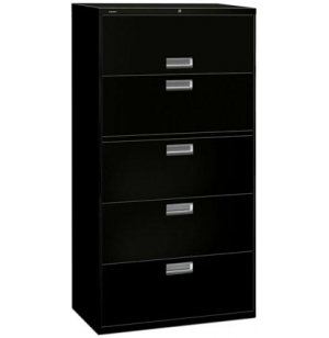 600 Series 5 Drawer Lateral File
