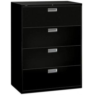 600 Series 4 Drawer Lateral File