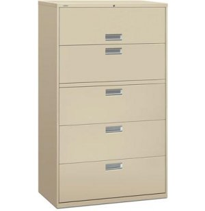 600 Series 5 Drawer Lateral File Cabinet
