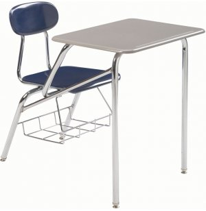 Combo Student Chair Desk - Hard Plastic Top, 16