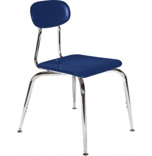 Adjustable Hard Plastic Stackable School Chair