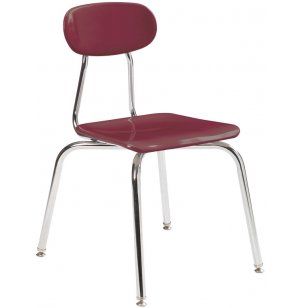 Acad Hard Plastic Stackable School Chair