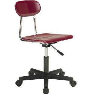 Hard Plastic Adjustable Swivel Chair