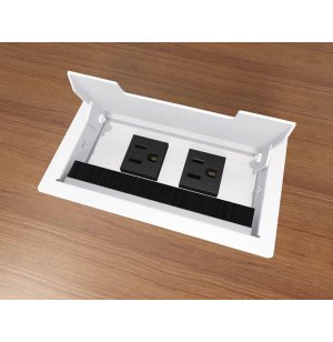 Flush Mount PowerFlex Power Base - White