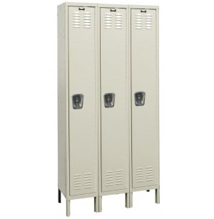 1-Tier Locker 3-Wide Assembled