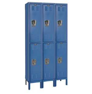 2-Tier Locker 3-Wide Assembled