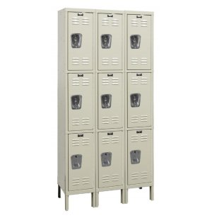 3-Tier Locker 3-Wide Assembled