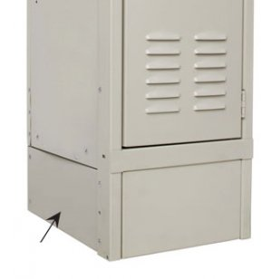 Side Base Cover for 18 Inch Deep Lockers