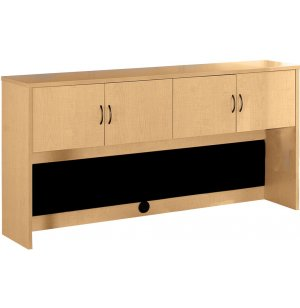 Hyperwork Overhead Storage Hutch with Doors - 66