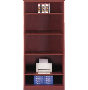 Hyperwork Four-Shelf Bookcase