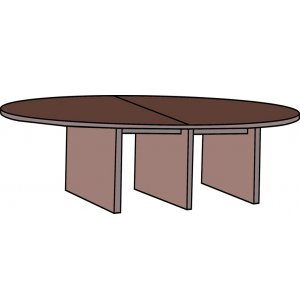 Hyperwork Racetrack Conference Table