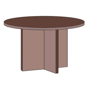 Hyperwork Round Conference Table
