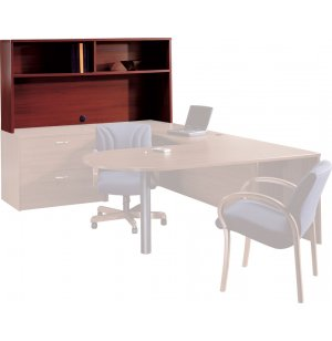 Hyperwork Open Office Desk Hutch - 72