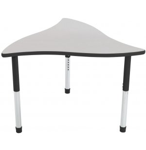 Tone Collaborative Classroom Table w/Colored Trim