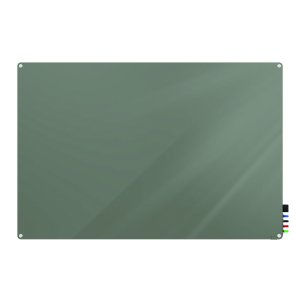 Harmony Magnetic Glass Whiteboard - Round Corners