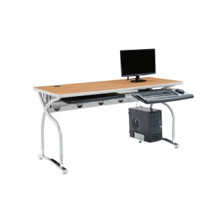 Illustrations V2 Adjustable Height Computer Table