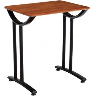 Illustrations Fixed-Height Desk with WoodStone Top