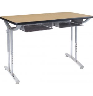 Illustration Double  Desk