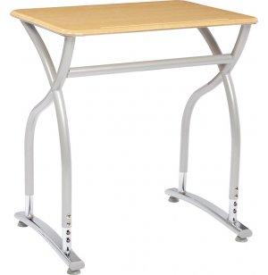 Illustrations V2 Adj. Height Classroom Desk - WoodStone