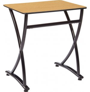 Illustrations V2 Classroom Desk - Laminate Top