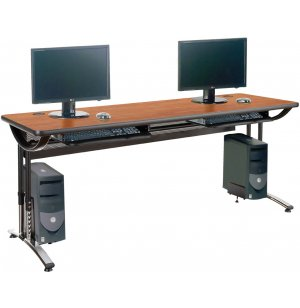 Illustration Computer Table