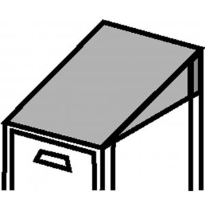 Slope-Top Kit, 1-Wide