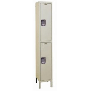 2-Tier Quiet Locker-1 Wide Assembled
