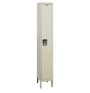 1-Tier Quiet Locker 1Wide Unassembled