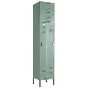 Two-Person Metal School Locker