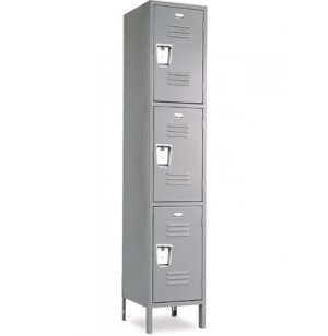 Triple Tier Locker - 1 Wide Recessed