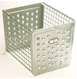 9W Basket with Perforated Front