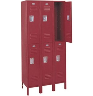 3-Wide Double Tier Locker
