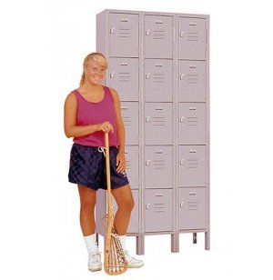 3-Wide Five Tier Locker