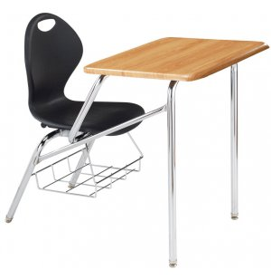 Inspiration Classic Student Combo Desk - WoodStone Top