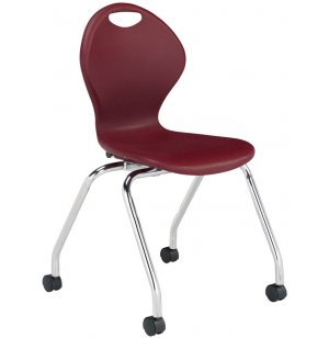 Inspiration Value Poly Classroom Chair with Casters