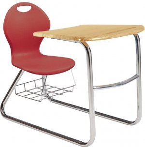 Inspiration Student Chair Desk - Sled Base