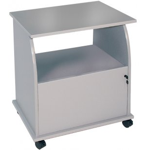 MobilTec Machine Stand with Locking Cabinet