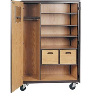 Wardrobe Unit- 3 Shelves- 2 Drawers